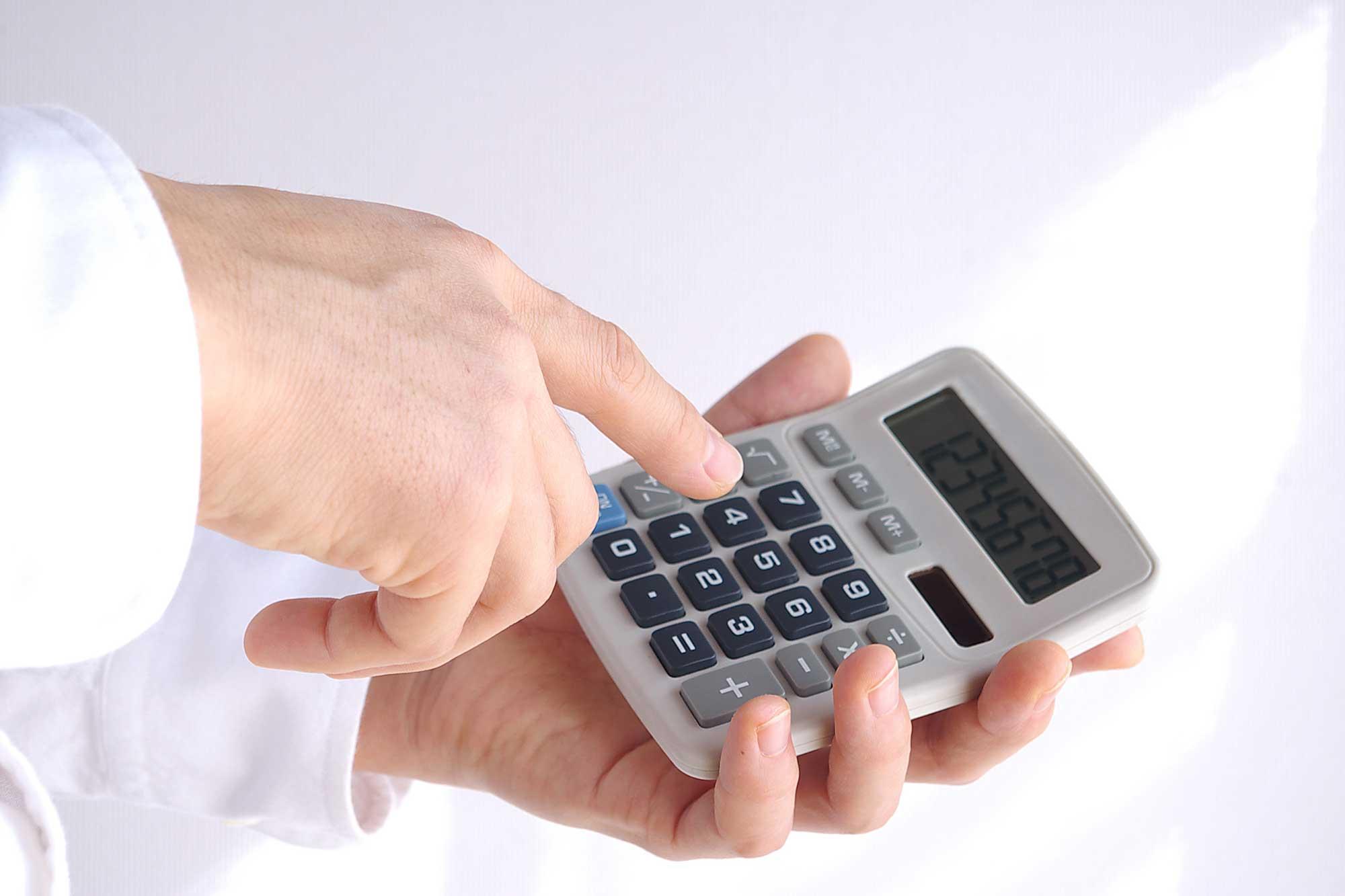 どれくらい売上・利益が減るのかを計算する
