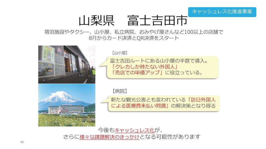 山梨県富士吉田市の事例